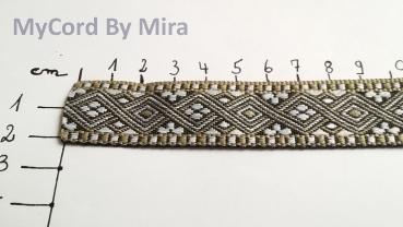 Borte 1098 WM Argentina 25mm Breite Ripsband Webband