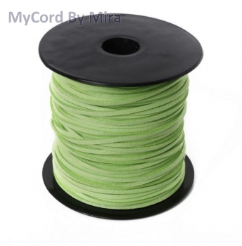 Wildlederband 3 mm (Kunst- Wildleder) MINT